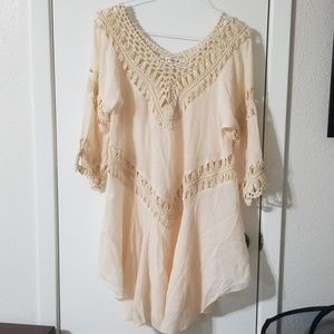 Creation beach cover up dress
